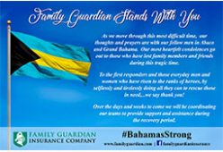 Family Guardian Stands With You – #BahamasStrong