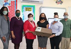 Family Guardian Donates State Of The Art Virtual Learning Equipment  To D.W. Davis Junior High School