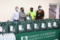 Family Guardian Donates Care Packages to The Cancer Society of The Bahamas, Cancer Caring Centre